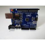 Arduino Uno Rev3 Mega328p + Cable Usb + Carcasa