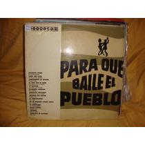 Vinilo Para Que Baile El Pueblo Pipo Adriano Bisio Leo P4