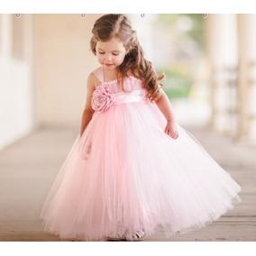 Tutu Dress Vestido Tul Tallas 1 A 6 Años
