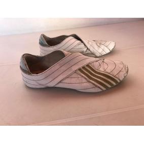 Zapatillas adidas De Mujer De Cuero Blancas 37