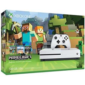 Xbox One - 500gb Console - Minecraft Bundle