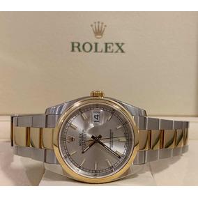 002149dc7b1 Rolex Ouro Branco 36mm - Joias e Relógios no Mercado Livre Brasil