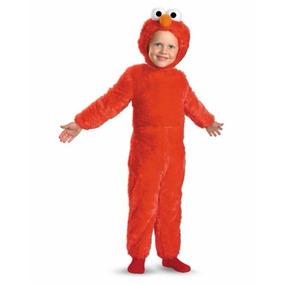Disfraz Bebe Elmo Traje Niño Plaza Sesamo Halloween