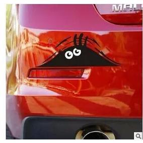 Sticker Carro Moto Monster Eyes/tanquegas Calcoman Accesorio
