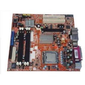 Placa Mãe 775 Lga Ddr2 + Brinde + Processador