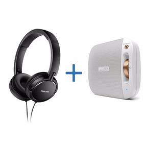 Auriculares Philips Shl5000 + Parlante Philips Bt2600w/00