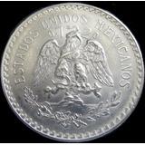 Jmm México: Gigante De Plata 1 Peso 1944 Brillante Sin Circ!
