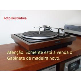 Gabinete Toca Discos Garrard Gradiente Novo Madeira Maciça