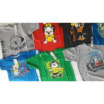 Camiseta Tigor Kit 3 Peças
