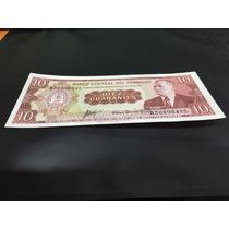 Hermodo Billete De Paraguay Diez Guaranies 1952 !!!!