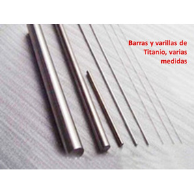 Varilla De Titanio Gr5, 2.0mm X 100mm