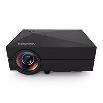 Proyector Mileagea Gm60 Mini Led Projector 800*480 Hd 1000