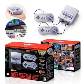 Snes Super Nintendo Classic Edition Original + 120 Jogos