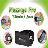 Massage Pro Calor+vibracion Sauna Reduce Adelgaza Masaje