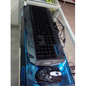 Combo Teclado Mouse Gamer Retroiluminado