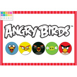 Kit Imprimible Personalizado Candy Bar Angry Birds