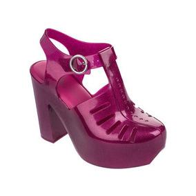 Melissa Aranha 79 16 Heel Ad 32242 Rosa Glitter