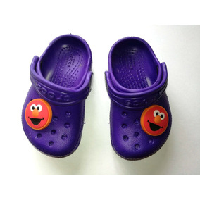 Crocs Zuecos Niños Bebés Unisex Con Jibbitz De Elmo