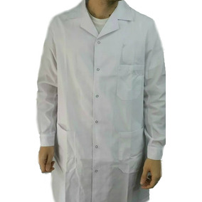Guardapolvo Blanco Medico - Laboratorio Unisex