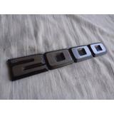 Emblema Santana Gls 88/90 Dacon 828 Original Vw Semi Nova