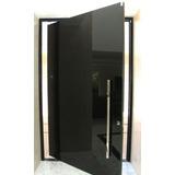 Porta Pivotante 110x210 Completa+batente Incluso+puxador Top