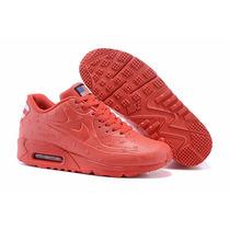 Nike Air Max Hyperfuse Rojas Y Negras C/caja Mejor Precio!!