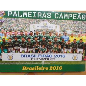 Quadro Pôster Palmeiras Brasileirão 2016 - Revista Placar
