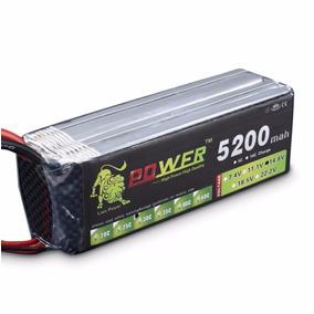Bateria Lipo 14.8v 5200mah 40c 4s Turnigy Trex Futaba Jr