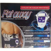 Cinturón De Masaje Electrónico Fat Away Reafirmante