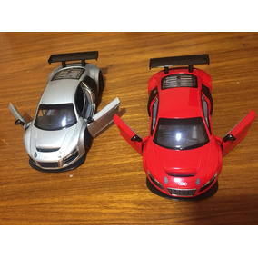 Miniatura Metal Audi R 8 Escala 1:32 Colecionável