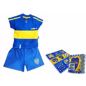 Combo Bebé Boca Juniors