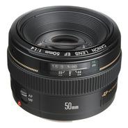 Lente Canon Ef 50mm F1.4 Usm C/ Recibo