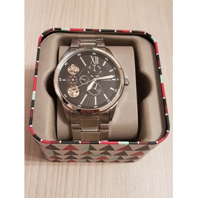 3bf46e481a6d3 Relógio Fóssil Blue Bq 8785 Pronta Entrega - Relógios De Pulso no ...