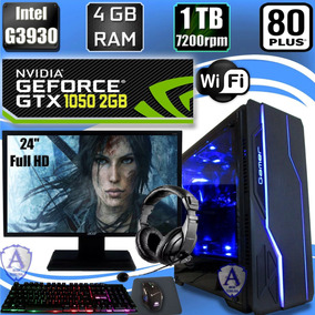 Pc Gamer G3930 Geforce Gtx 1050 2gb 1tb Hd 4gb Acer 24 Bc09