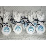Souvenirs Nacimiento-conejitos Con Toalla Y Jabón X 10 Unida