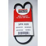 Correa 3pk820 Alternador Swift Bando 32.3pulg 1cm De Ancho