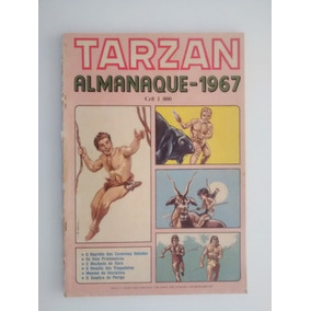 Almanaque De Tarzan - Editora Ebal 1967