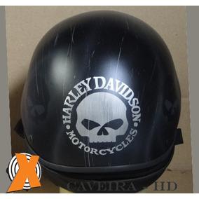 Capacete Caveira Harley Davidson - Custom Chopper
