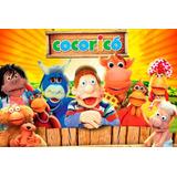 Painel Decorativo Festa Infantil Cocoricó Tv Cultura (mod3)
