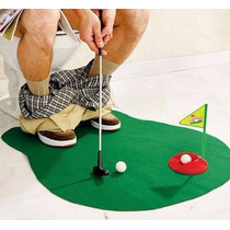 Mini Golf Para Baño Completo Potty Putter Green Handicap