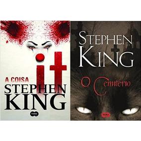 O Cemitério Livro Stephen King + It A Coisa