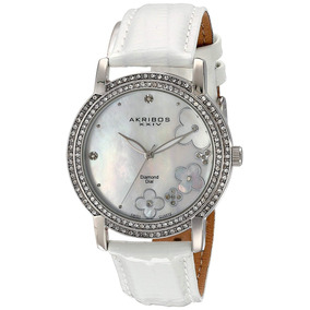 7e3bd7bb175 Pulseir Akribos Xxiv Women S Ak586rg Lady Diamond Stainless - Joias ...