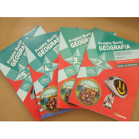 Geografia Projeto Buriti Do 2º Ao 5º Ano Livros Novos