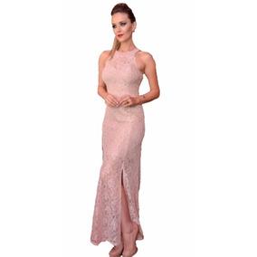 Vestido Feminino Renda Longo Festa Fica #vl4 Maravilhoso