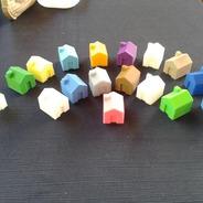 Casa Monopoly Jogos Tabuleiro Banco Imobiliario Kit 100