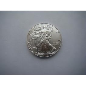 Moeda De Prata Pura Usa 1 Dollar 2017fc.
