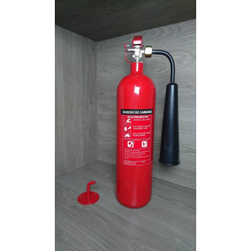 Extintor De Gas Carbonico Co2 Cargado 2.5kg Nuevos 2017
