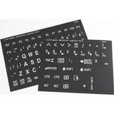 Braile Stickers Etiquetas Teclado Braille Y Letras Grande