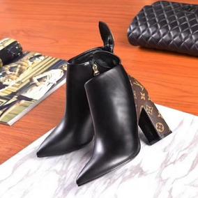 Bota Louis Vuitton Ankle Feminina - Sedex Grátis