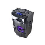 Caixa De Som Ativa Multiuso Para Dj Bluetooth Usb Bateria